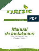 Manual Jc-hpc-0210-15 Instalacion Aplicacion en Losa - Hersic