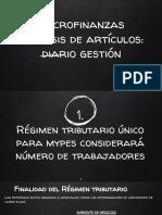 Diario Gestion Microfinanzas