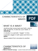 characteristics of waves notes