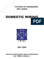 Booklet on Domestic Wiring