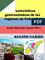 Cartilla Gastronomia Regiones Colombianas