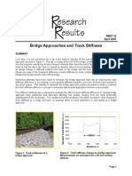 FRA Bridge Approaches and Track Stiffness