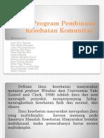 Program Pembinaan Kesehatan Komunitas Ppt k3
