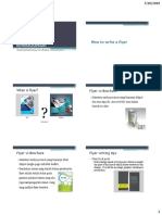Mg 10 Kewirausahaan - How to Create Best Flyer