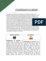 CUADRO COMPARATIVO DE  RSE  CREPES AND WAFFLES Y COMPETENCIA