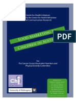 Food Marketing to Children in Australia