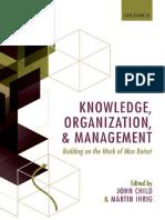 Knowledge, Organization & Management