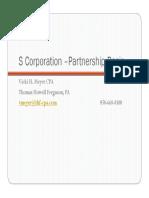 Corporation Partnership Basis Ficpa