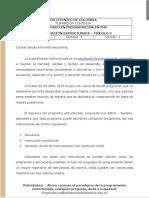 Módulo 3 - Programación Estructurada