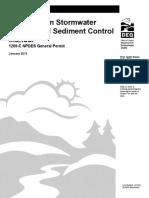 Erosion Sediment Control