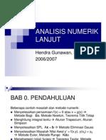 Analisis Numerik Lanjut Tm1