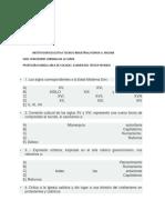 Examen de Sociales 7mo