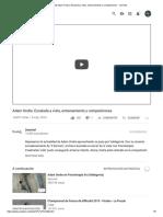 (10) Adam Ondra_ Escalada a Vista, Entrenamiento y Competiciones - YouTube