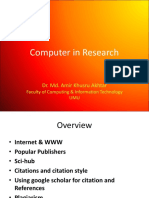 Computer In Research
