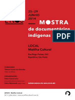 Programação Mostra Indígena