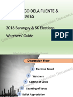 Brgy. & SK Elections Watchers' Guide