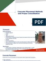 Part 3-Concrete Placement Methods & Proper Consolidation