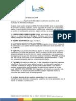 Cotizacion C110 Edward Remedios