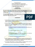 Acuerdo Plan de Estudios Normal Bahia Solano 2014
