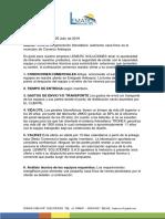 Cotizacion Fotovoltaica Aislada Cisneros