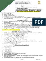 2019 KGC Course Description