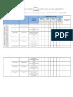 6- Modelo de Matriz de Validación Factores