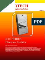 ISOTECH KTE Isolator Catalog Ver.01.20161229201642129PM