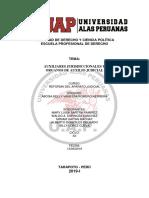 Auxiliares Jurisdiccionales y Organos de Auxilio Judicial