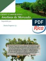 Analisis de Mercado Grupo Rica Ppt