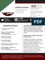 Charitydelmo Profile