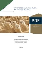 [Chamorro, B., Fernández, C., Mazuelos, A.] Prendas de Vestir de Alpaca - Paris, Île de France, Francia