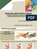 Parques metropolitanos