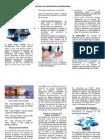 3.1. Folleto - Contrato de Transporte Internacional.