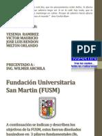 Exposicion-Obejtivos de La FUSM