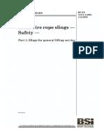BS EN 13414-1 2003 +A2 2008 Standard