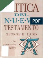 Goerge E Ladd - Crítica Del Nuevo Testamento_Cap1
