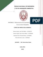 ORIGINAL INFORME N°2- Determinación de parámetros geomorfológicos de una cuenca hidrográfica.docx
