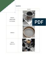 Materiales de Proctor Estandar