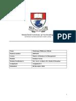 Mashango Phillemon Sithole Assignment 2