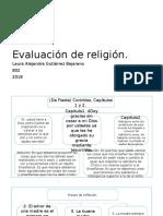 Evaluacion Religion Mapas Conceptuales Tercer Periodo 4