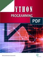 Analytics Python Programming
