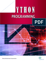 Analytics Python Programming