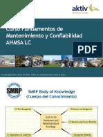 Fundamentos de mantenimiento y confiabilidad