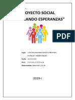 Informe Proyecto Social II