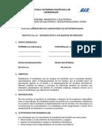 PRÁCTICA #01 Instrumentos de Medición (2)