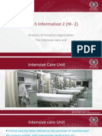 Week 8 HI-2 Intensive Care Unit