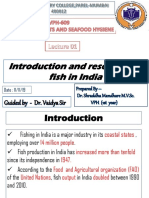 Introduction and Resources of Fish in India