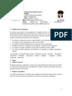 Objetivos, Hipotesis, Variables- Exposición.