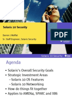 Solaris10 Security