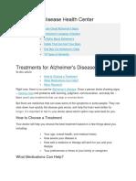 Alzheimer Treat